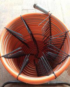 Kabelbinder abschneiden