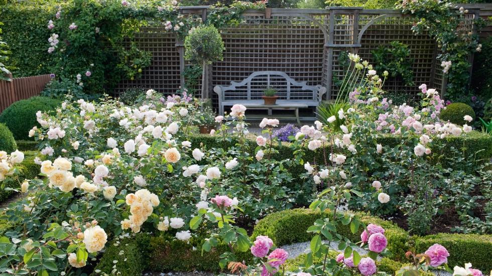 Ein garten mal zwei schweizer garten - Garten strukturieren ...