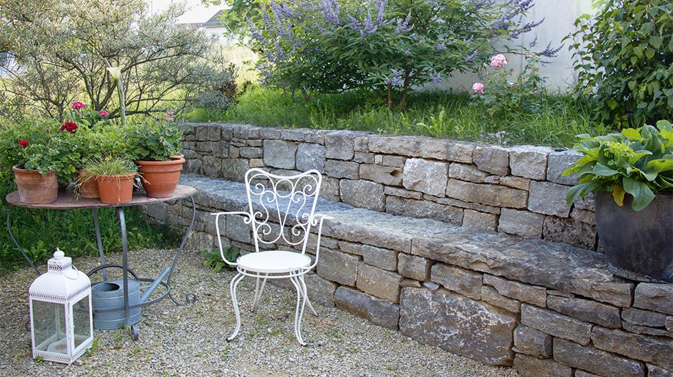 Struktur im Garten