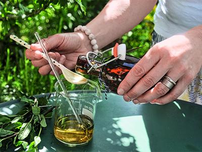Minze-Erfrischungsspray