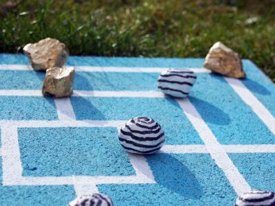 Upcycling für Bodenplatten