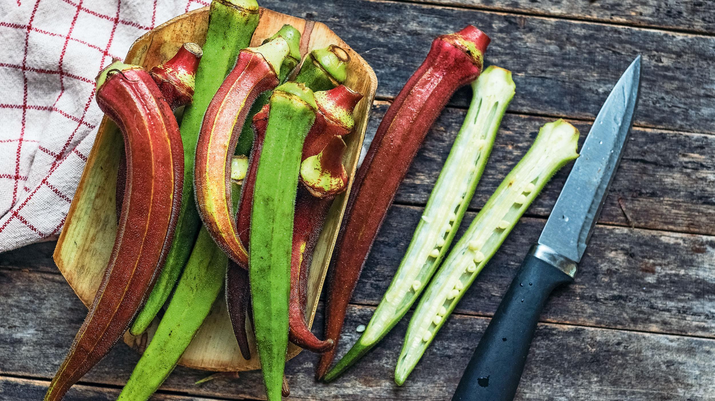 Gemüseeibisch: Okra selbst anbauen